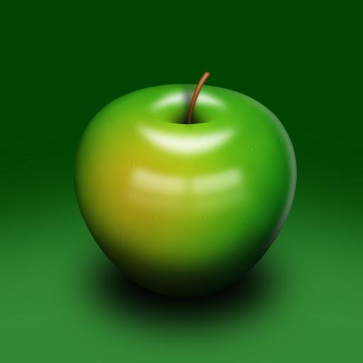 เทคนิคการวาดรูปแอบเปิ้ลสวยๆ Apple2