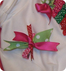 ribbon christmas tree shirt tutorial