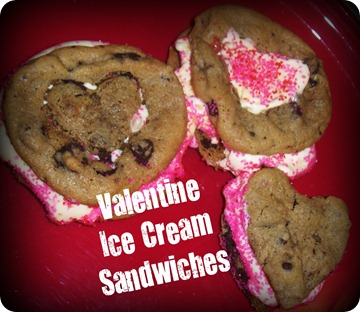 V Ice Cream Sandwiches