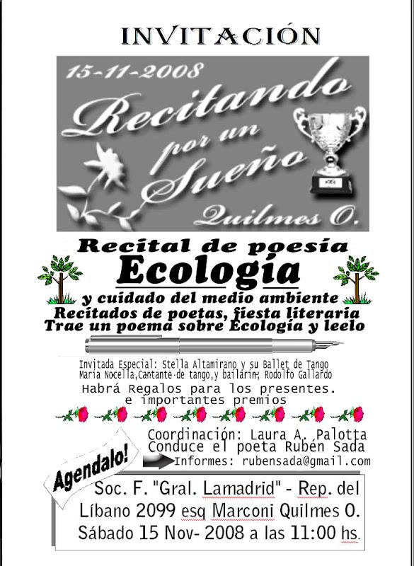 ( Poesia Ecologica ) - Poemas Poesias Versos y Rimas de Ruben Sada