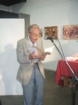 MARTIN BOTTERO LEYENDO EN LITERARIO DE MARGA MANGIONE