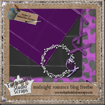 http://packofbutterflies.blogspot.com/2009/04/midnight-romance-on-sale-and-freebie.html
