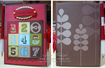 NOTEPAD FRONT & BACK