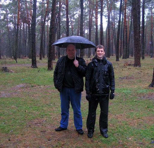 Пан Анжей Калиш и Белоногий-Греджук Олег. Семинар Ицюань. Ноябрь, 2010 год