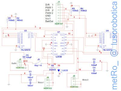 Lusorob Tica Motor Board
