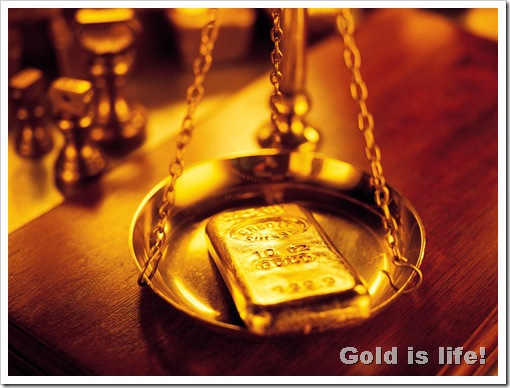 wallpaper_Gold_Bullion_Bar_on_the_Scales_make_money_with_gold