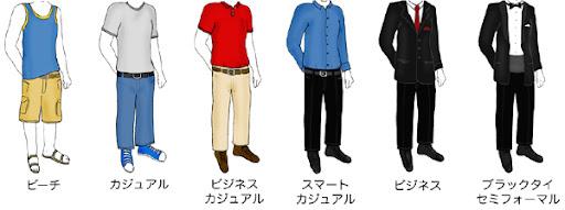 どちらにせよ、カナダでは昼カジュアルな服装で過ごし、夜ドレスアップする習慣なので、レストランでディナーを楽しむときには、ジーパン、短パン、Tシャツ、タンク