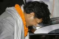 Mathura Shrestha bate recorde com o nariz-recortada
