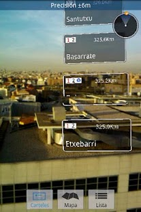 Bilbao Tube AR - screenshot