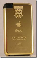 iPod Emas David Beckham