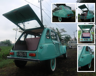 CITROEN DYANE '74 - Custom Restored! (for sale) on
