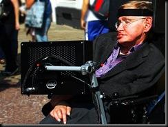 Stephen Hawking. Wikimedia Commons