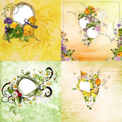 Springtime - Frame Photo - Springtime (4frames)