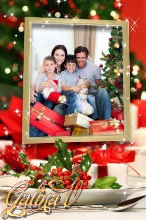 Frame for Photo - Christmas Eve