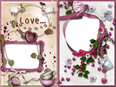 Frame for Photo - Love Frame