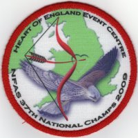 NFAS Nationals 2009 Badge