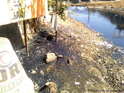 Polluted Sewage Line