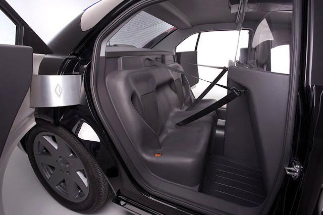 Inside Police Car