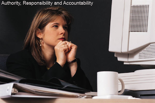 authority responsibility and accountability in management