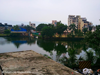 Thane station Lake