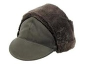Swedish army winter cap