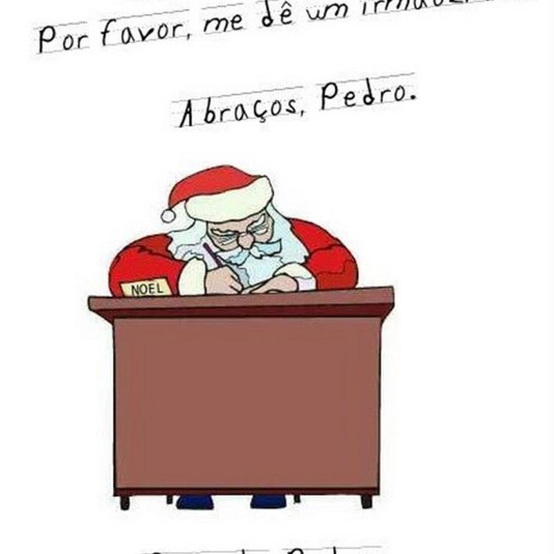 Carta ao Pai Natal[Humor]