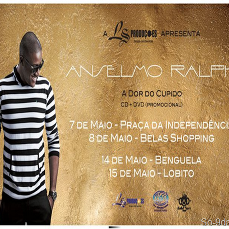"Anselmo Ralph – A Dor do Cupido""Single""[Banner]"