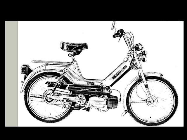 puch scooter service  u0026 parts manuals 250pg w   maxi sport