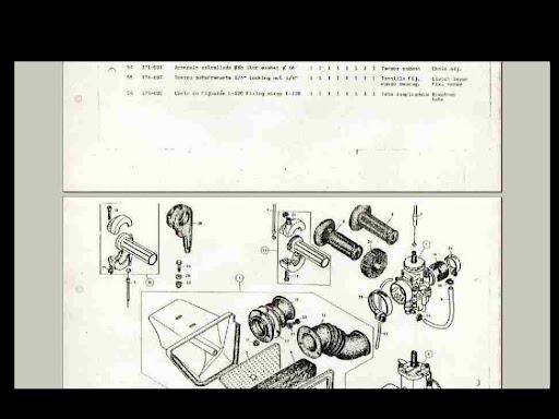 Bultaco Cemoto Alpina Parts Diagram Motorcycle Manual For Sale