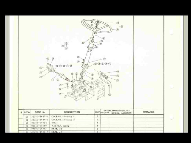 Kubota L185 Parts : Kubota l dt tractor parts manual for