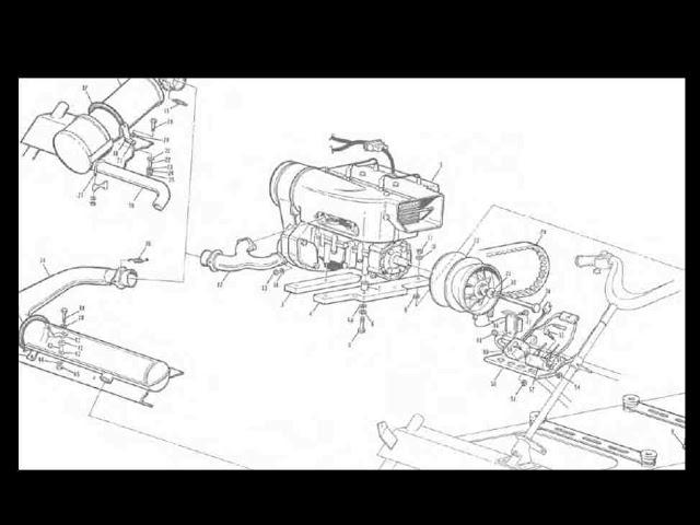 1973 chaparral snowmobile parts  u0026 73 brochure manuals for sale