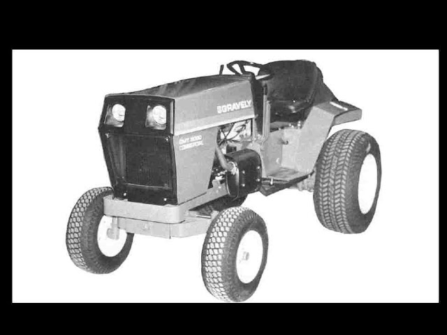 Dt Kubota M5500 Tractor Seats : Gravely tractor overhaul service parts manuals