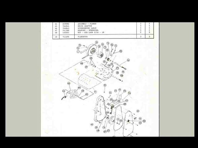 scorpion brut snowmobile brochure parts manual set for sale