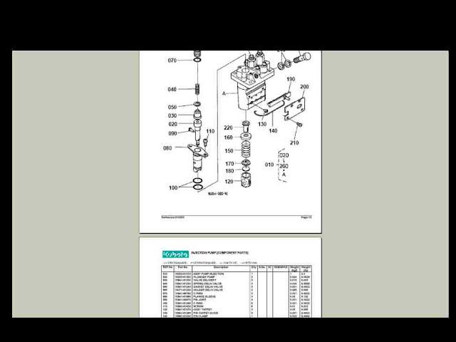 kubota b2100 wiring diagram
