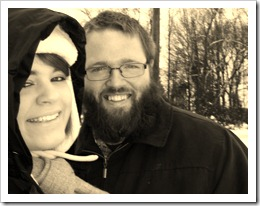 hubby & wife!