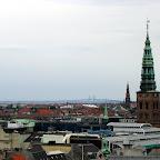 Копенгаген, на горизонте - мост в Швецию