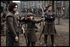 Jon, Bran y Robb