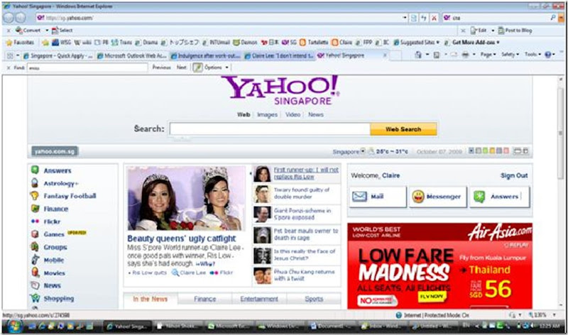 me on yahoo
