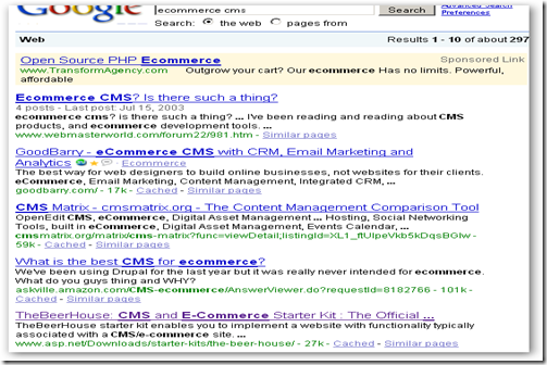 google cms3