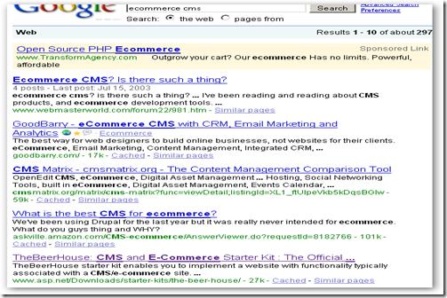 google cms3