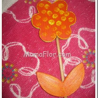 Como pintar una flor de trupan