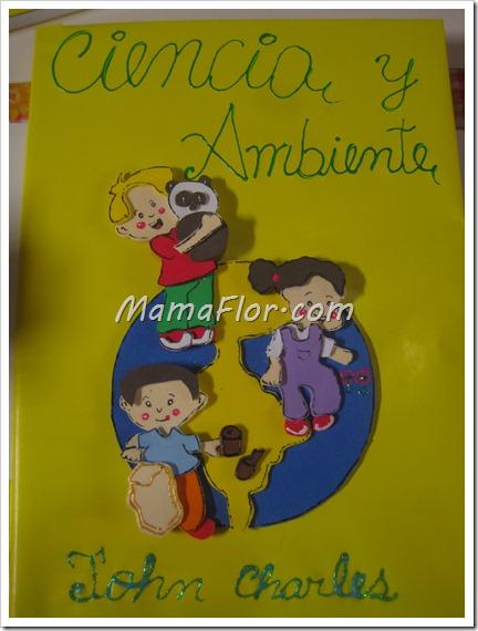 Ideas de como decorar el cuaderno de los nenes