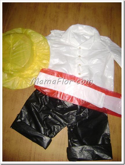 Como hacer un disfraz de cholo peruano con material de reciclaje