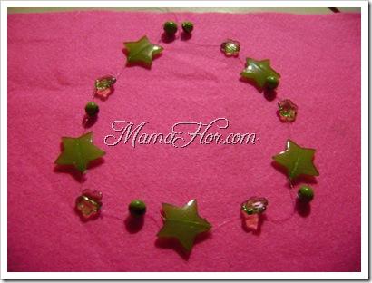 Como hacer un collar de estrellas para las nenas