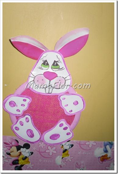 Portaaretes en forma de conejo