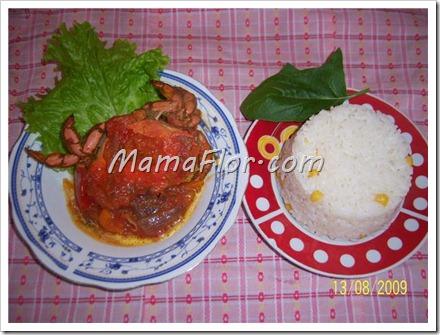 Como preparar el sudado de cangrejo