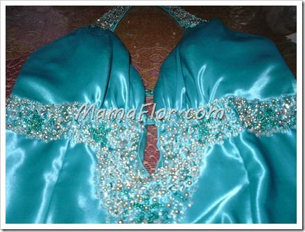 Como decorar un vestido de fiesta