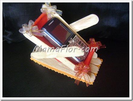 Como hacer una mecedora portacelular para regalar a papa