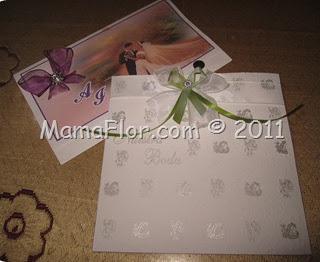 Como decorar tarjetas con lazitos de cintas