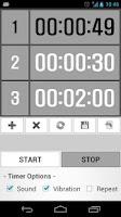 Screenshot of Custom Timer (Training/Study)